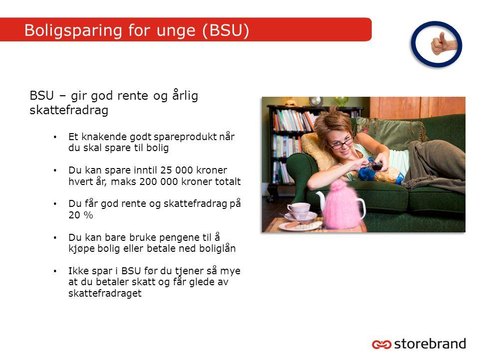 Boligsparing for unge (BSU)