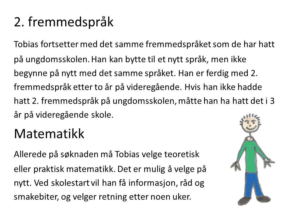 2. fremmedspråk Matematikk