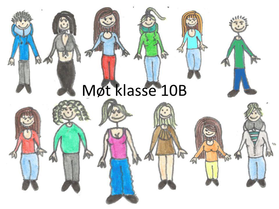 Møt klasse 10B