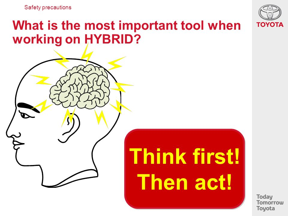 What is the most important tool when working on HYBRID