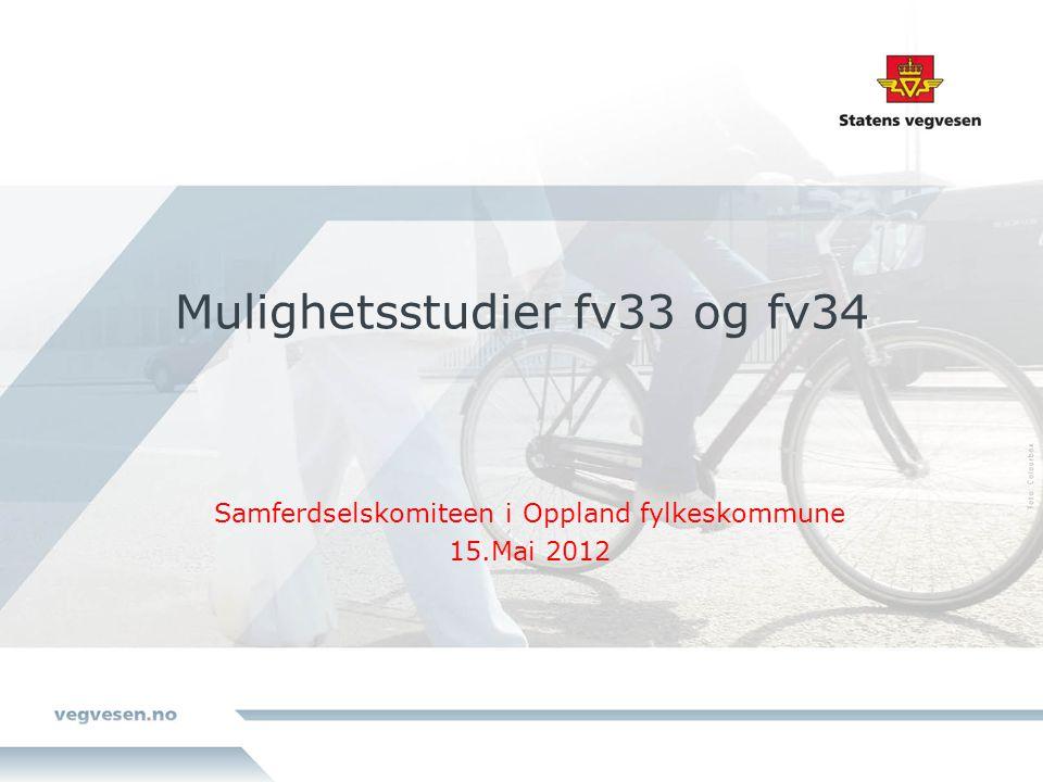 Mulighetsstudier fv33 og fv34