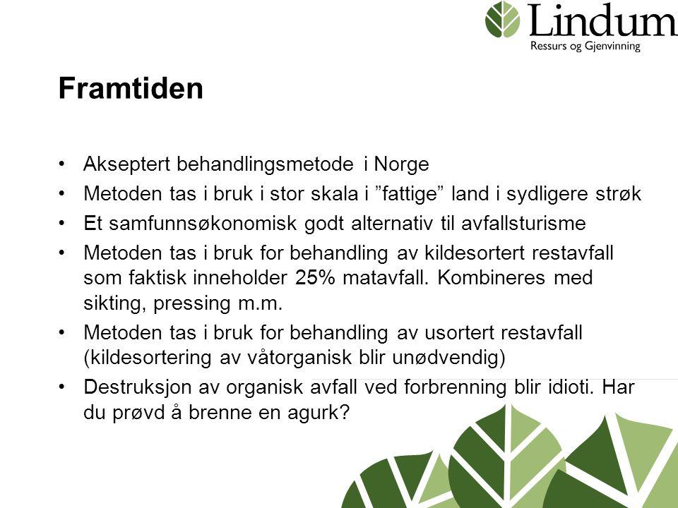 Framtiden Akseptert behandlingsmetode i Norge