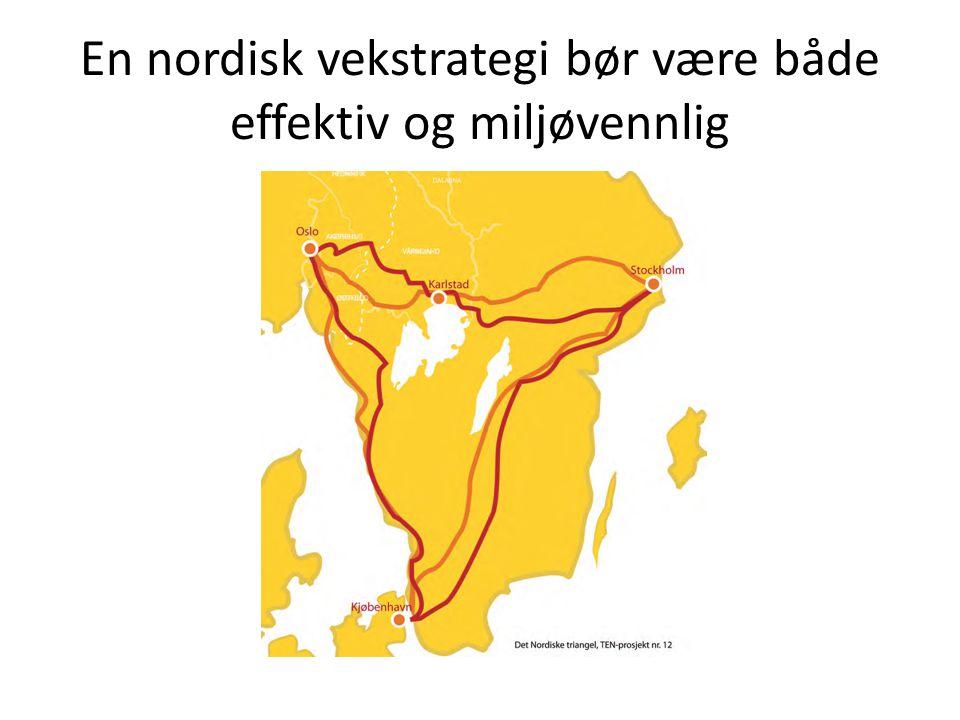 En nordisk vekstrategi bør være både effektiv og miljøvennlig