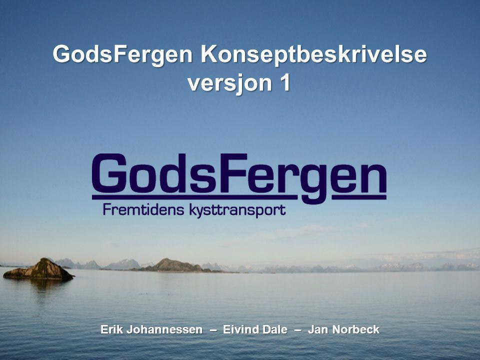 GodsFergen Konseptbeskrivelse versjon 1