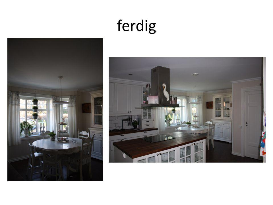 ferdig Resultatet med dimbryter for hver lamp.