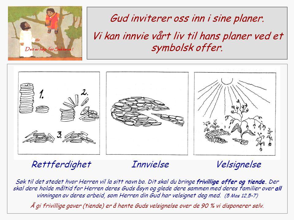 Gud inviterer oss inn i sine planer