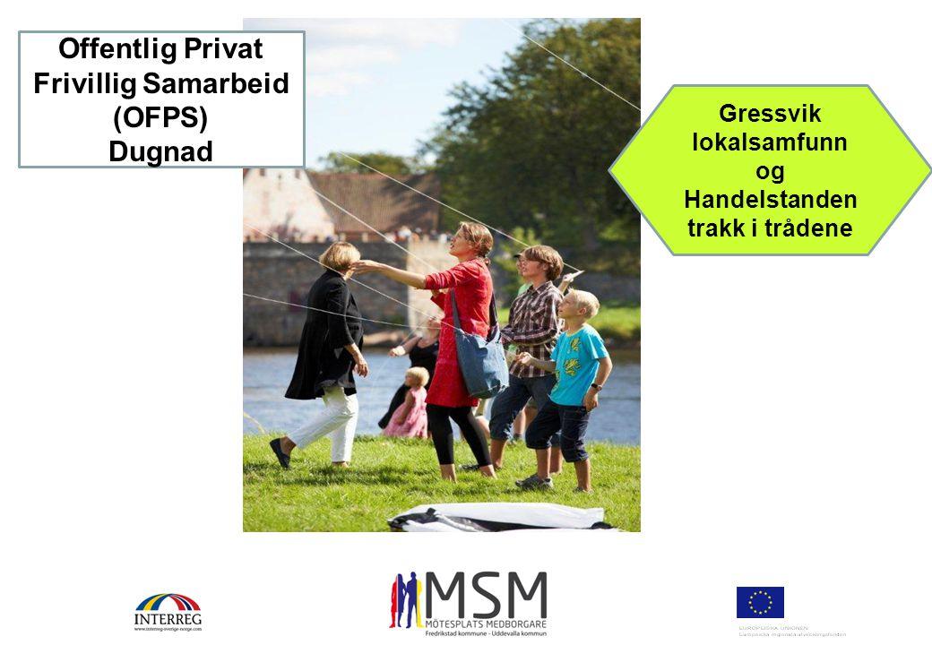 Offentlig Privat Frivillig Samarbeid (OFPS) Dugnad