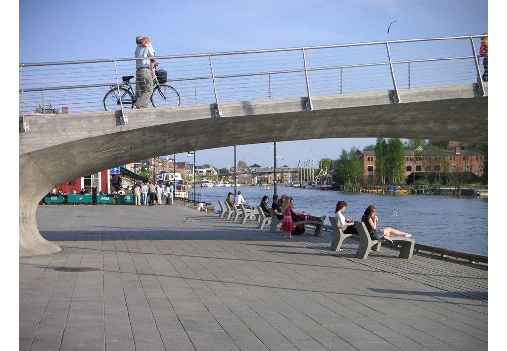 Dette er Fisketorget i sentrum, ikke Gressvik torg