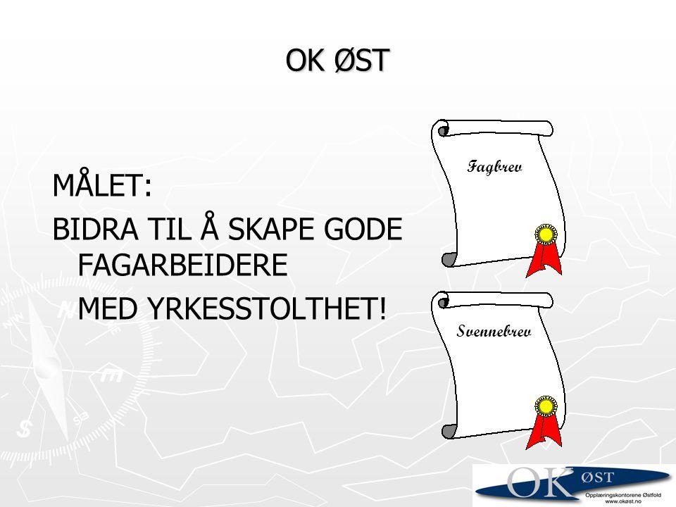 BIDRA TIL Å SKAPE GODE FAGARBEIDERE MED YRKESSTOLTHET!
