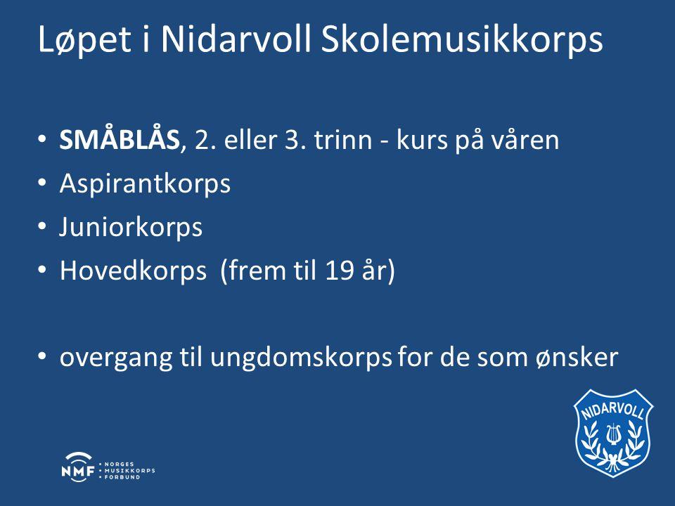 Løpet i Nidarvoll Skolemusikkorps