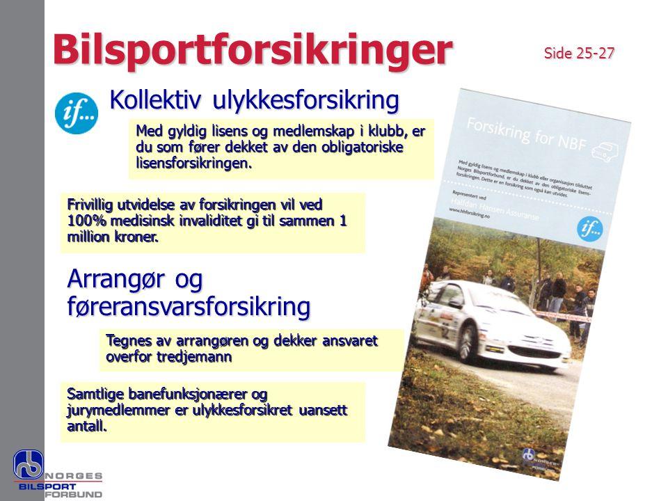 Bilsportforsikringer
