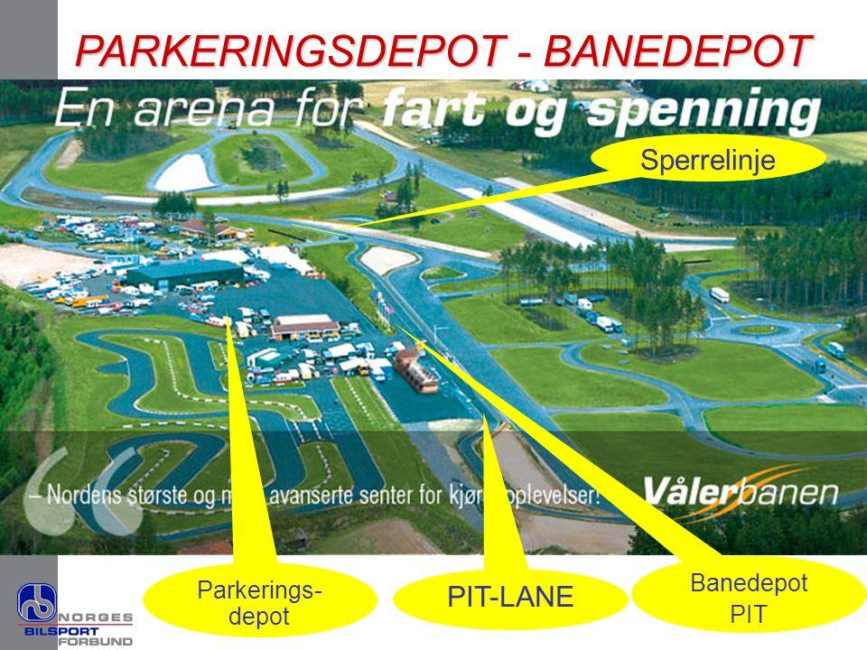PARKERINGSDEPOT - BANEDEPOT