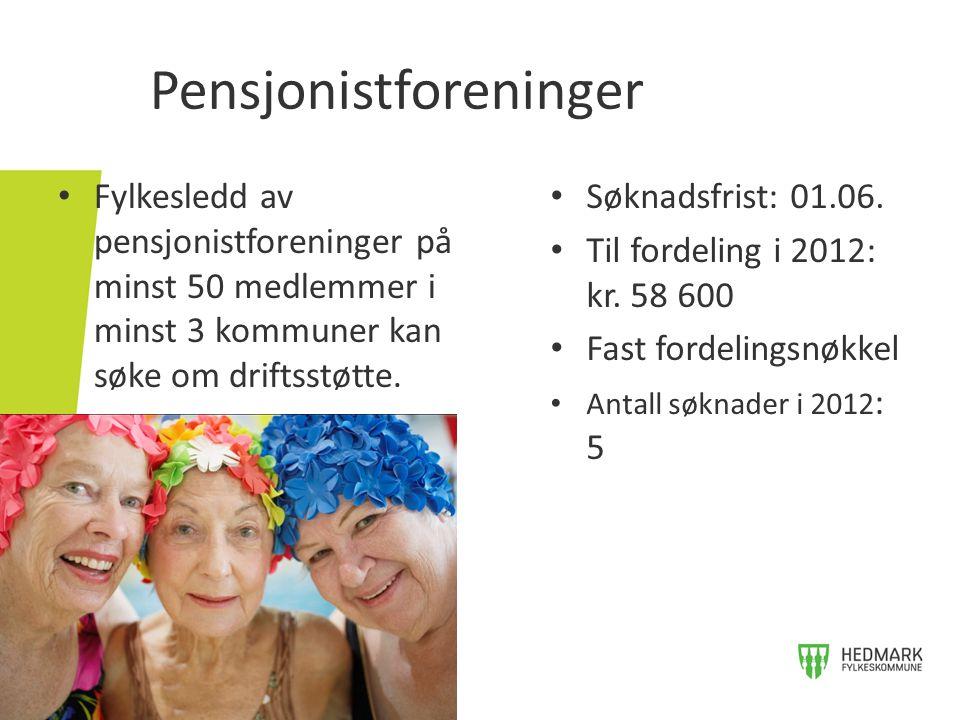 Pensjonistforeninger