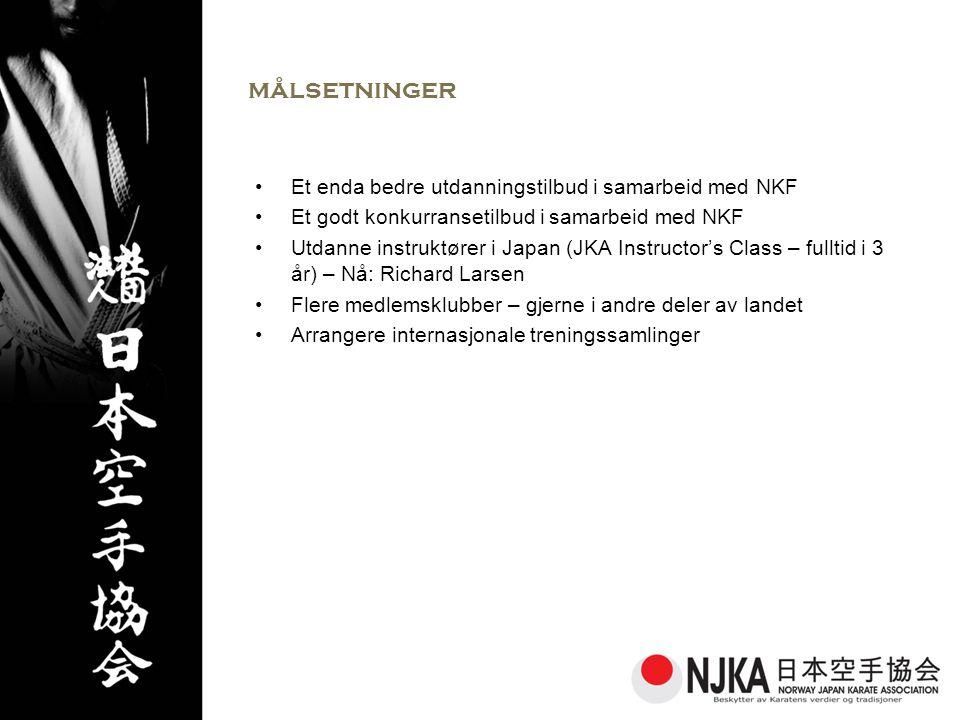 målsetninger Et enda bedre utdanningstilbud i samarbeid med NKF