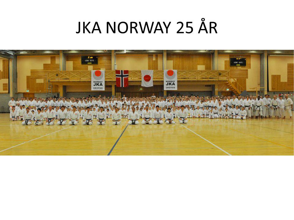 JKA NORWAY 25 ÅR