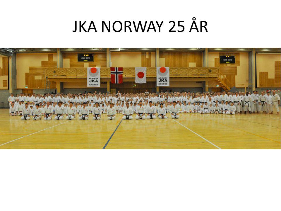 JKA NORWAY 25 ÅR