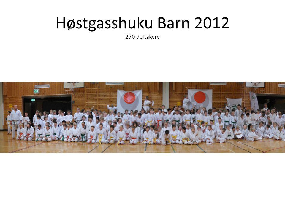 Høstgasshuku Barn 2012 270 deltakere