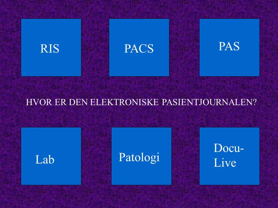 PAS RIS PACS Docu-Live Patologi Lab