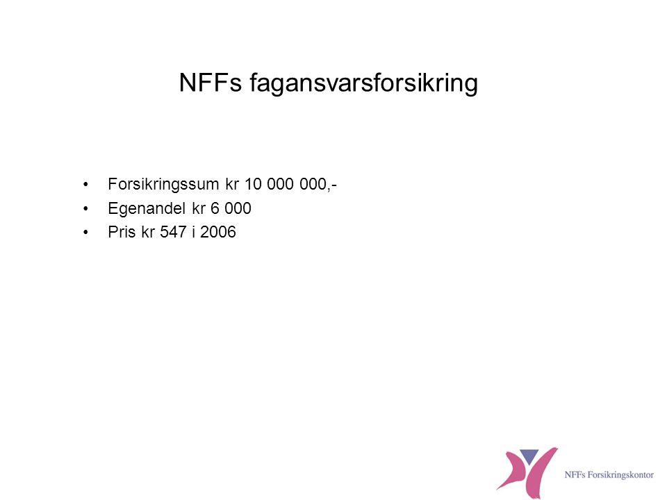 NFFs fagansvarsforsikring