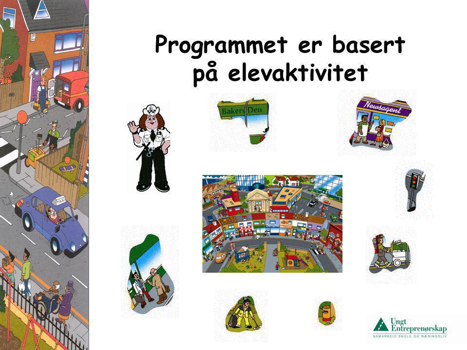 Programmet er basert på elevaktivitet