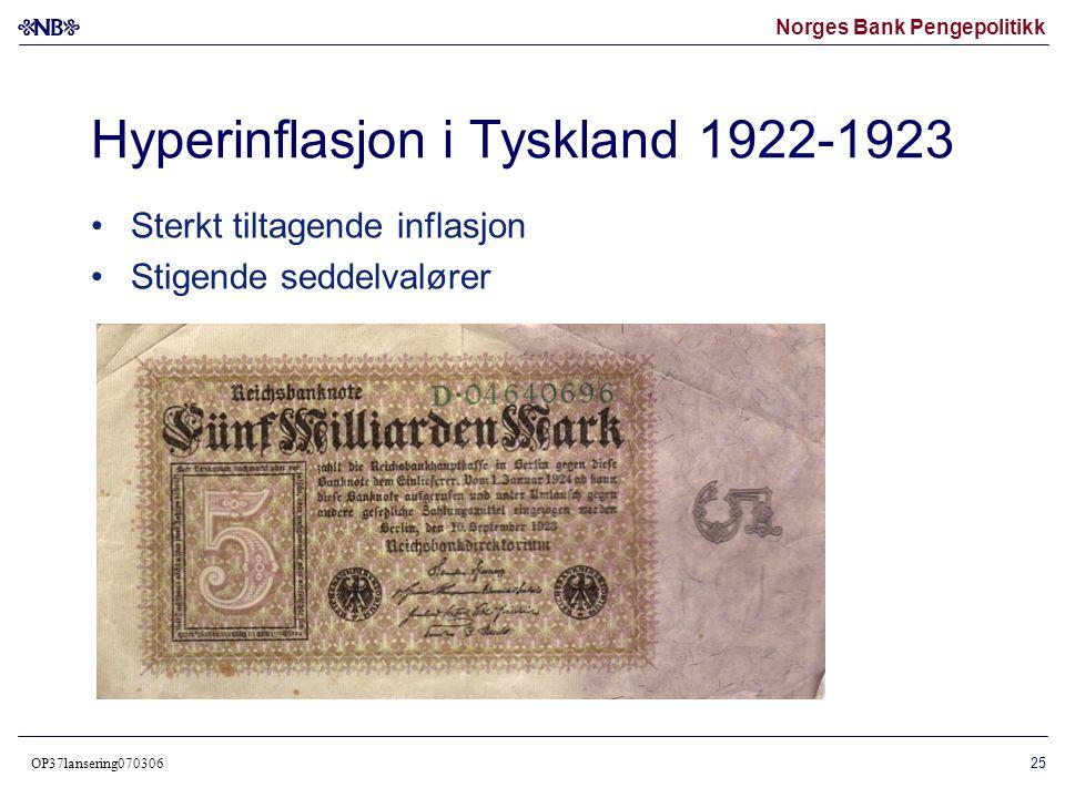 Hyperinflasjon i Tyskland 1922-1923