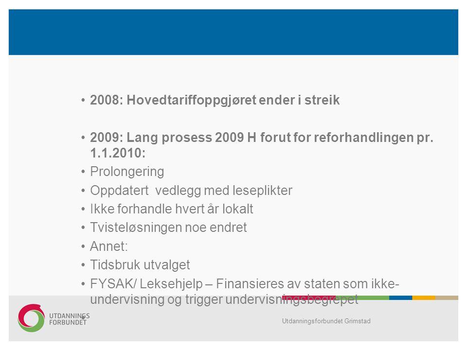 2008: Hovedtariffoppgjøret ender i streik