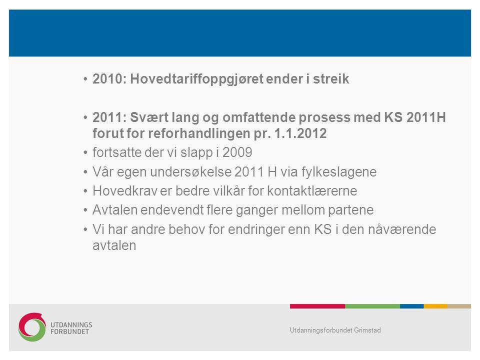 2010: Hovedtariffoppgjøret ender i streik