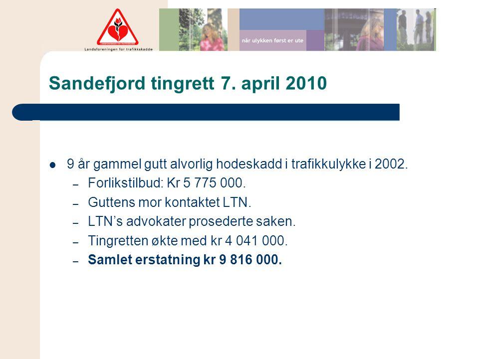 Sandefjord tingrett 7. april 2010