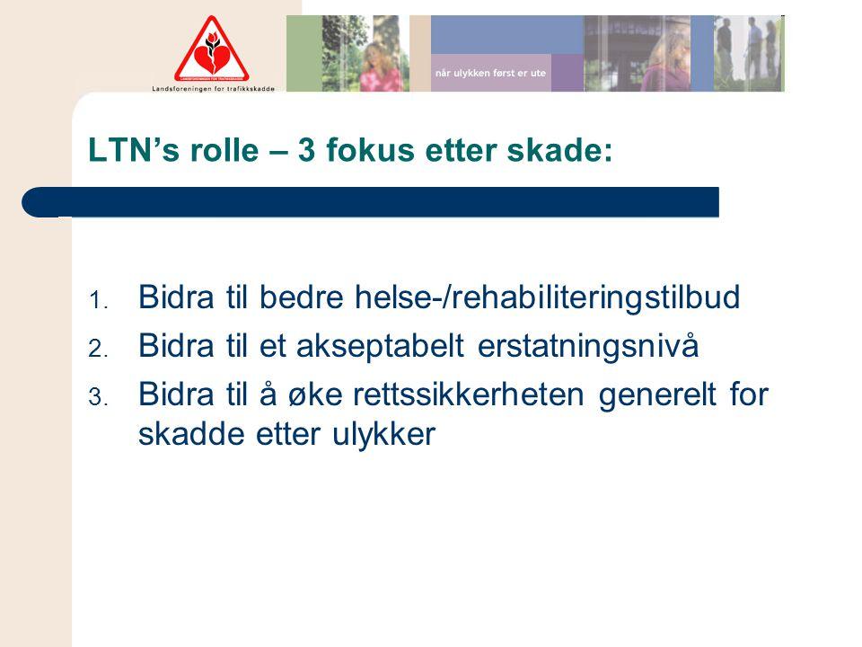 LTN's rolle – 3 fokus etter skade:
