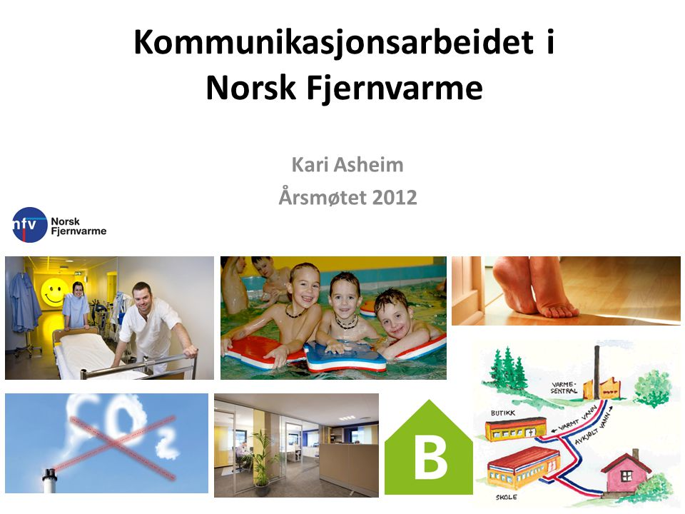 Kommunikasjonsarbeidet i Norsk Fjernvarme