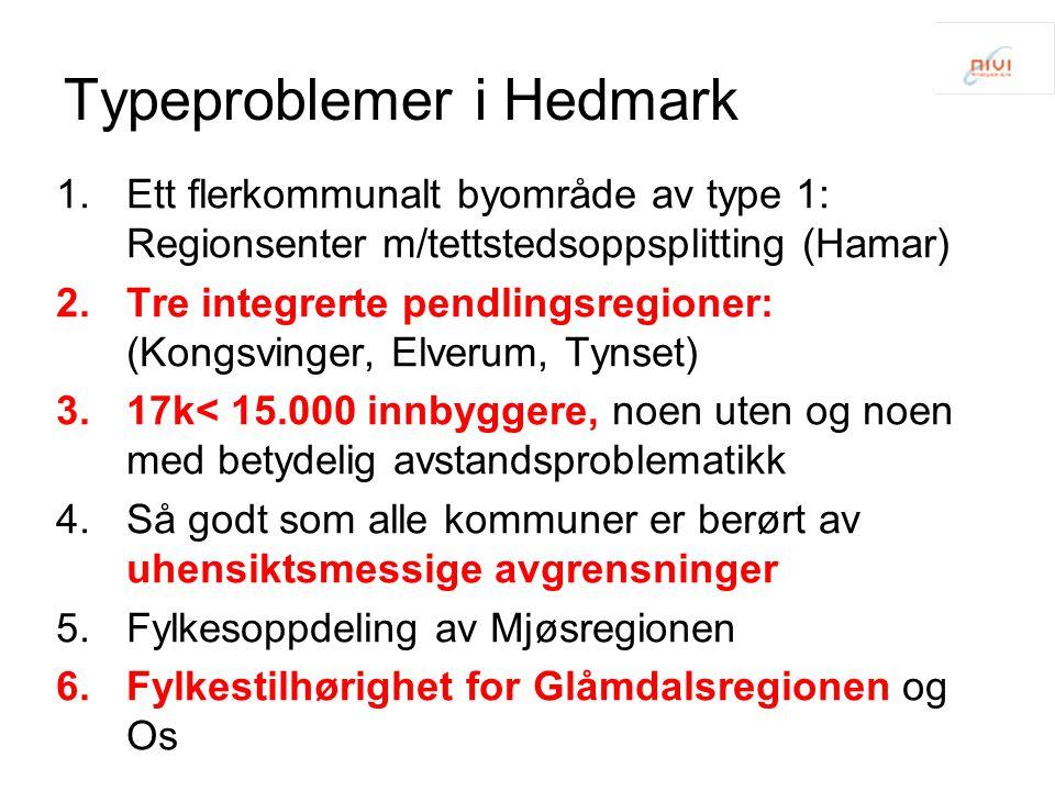 Typeproblemer i Hedmark