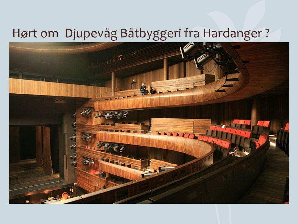 Hørt om Djupevåg Båtbyggeri fra Hardanger