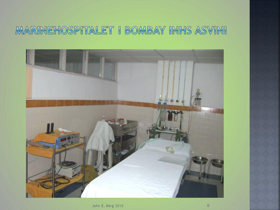 Marinehospitalet i Bombay inhs asvini