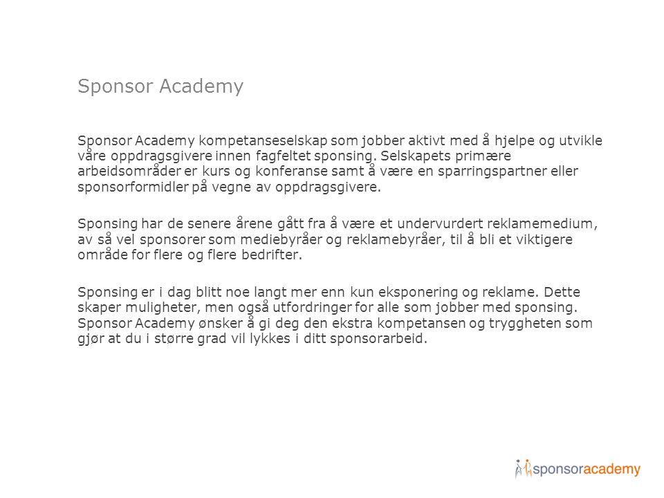 Sponsor Academy