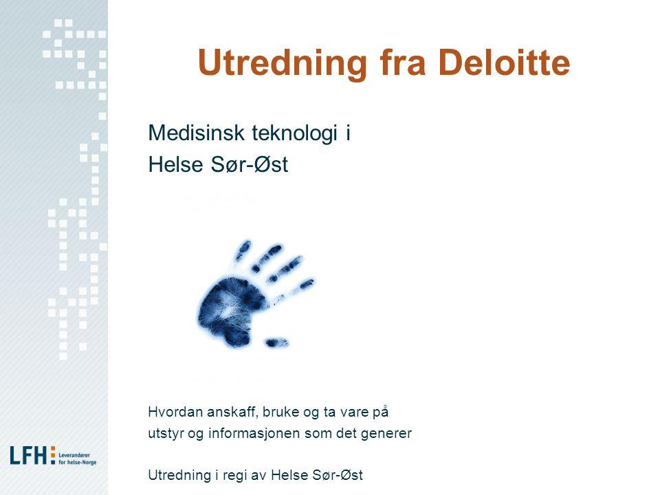 Utredning fra Deloitte