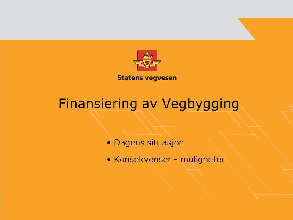 Finansiering av Vegbygging