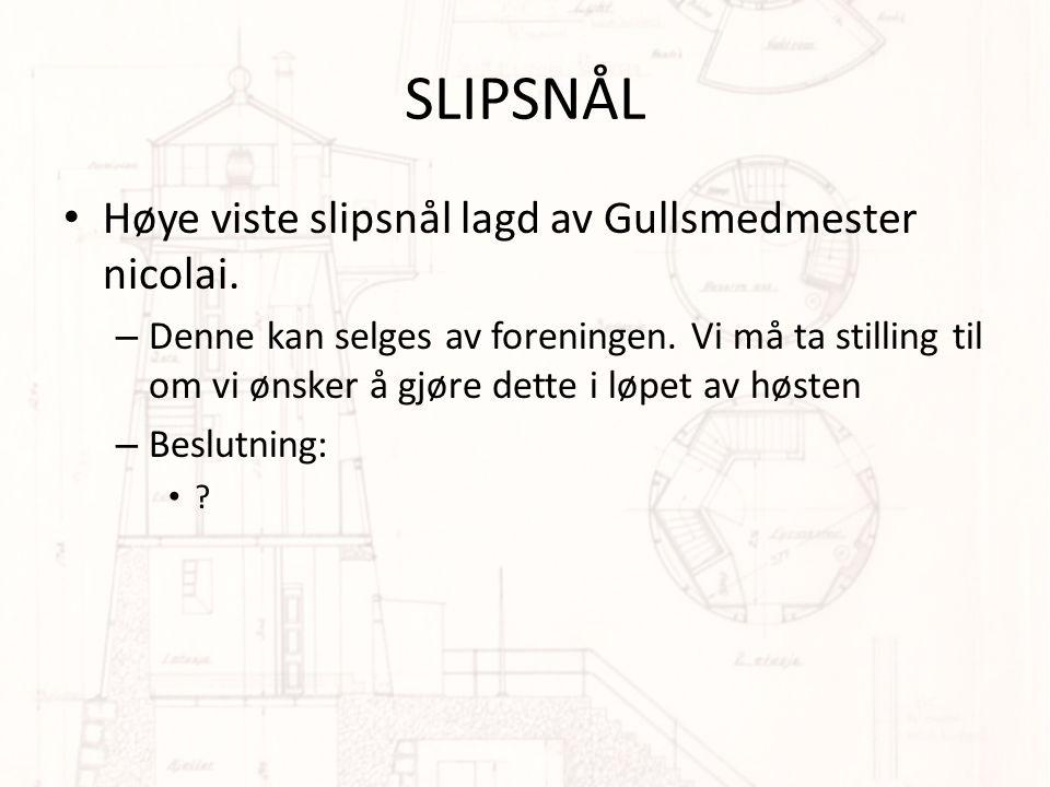 SLIPSNÅL Høye viste slipsnål lagd av Gullsmedmester nicolai.