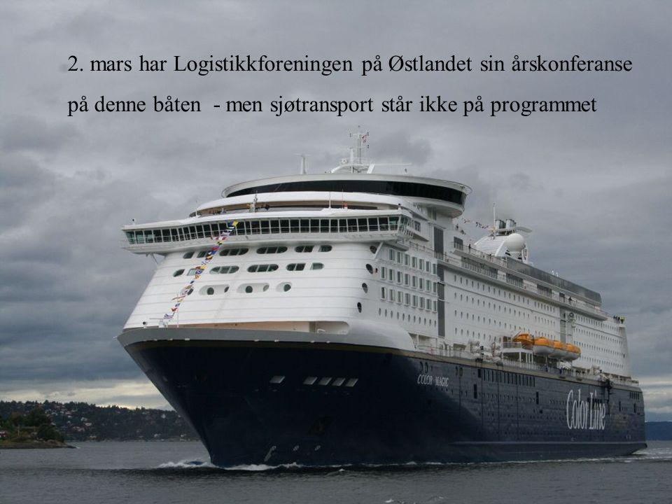 2. mars har Logistikkforeningen på Østlandet sin årskonferanse