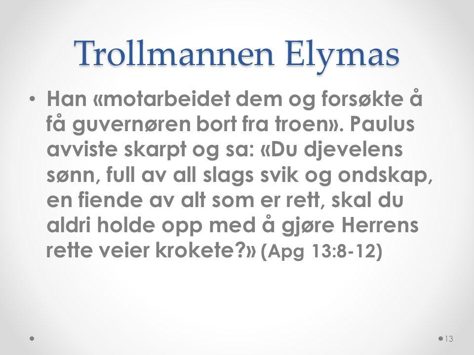Trollmannen Elymas