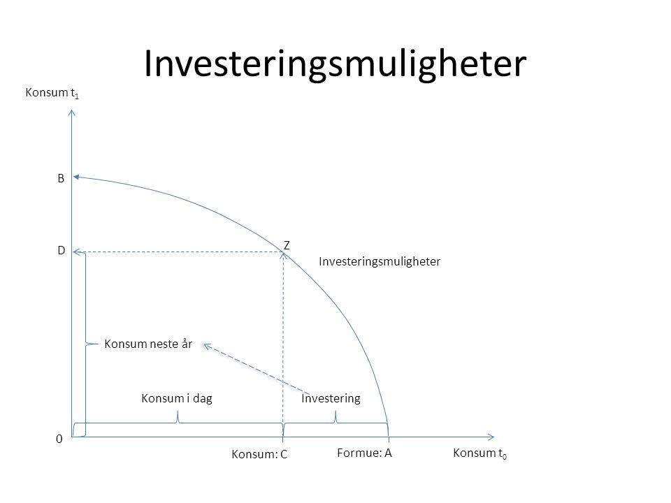 Investeringsmuligheter