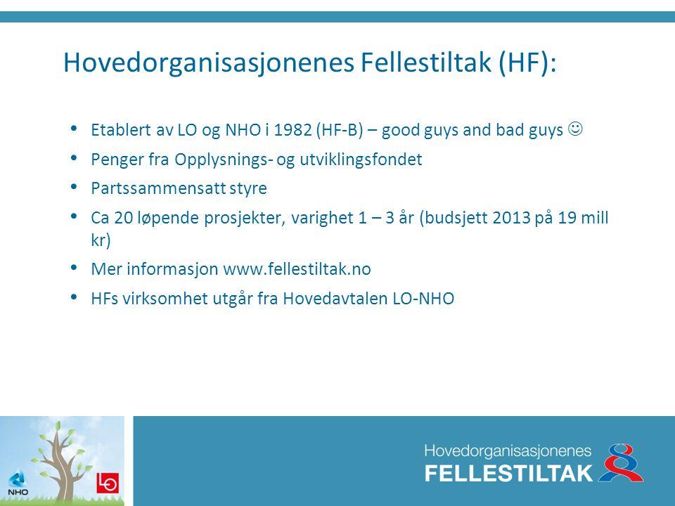 Hovedorganisasjonenes Fellestiltak (HF):