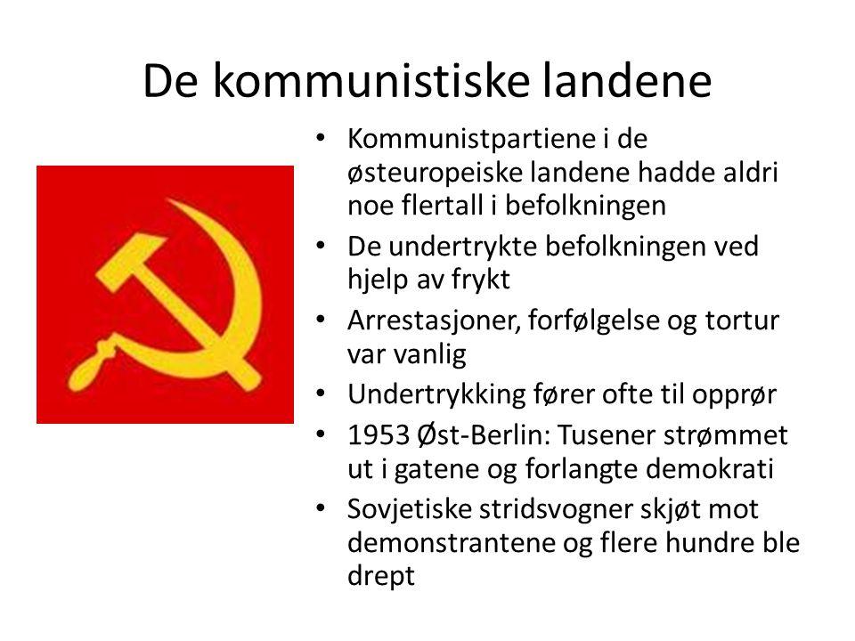 De kommunistiske landene