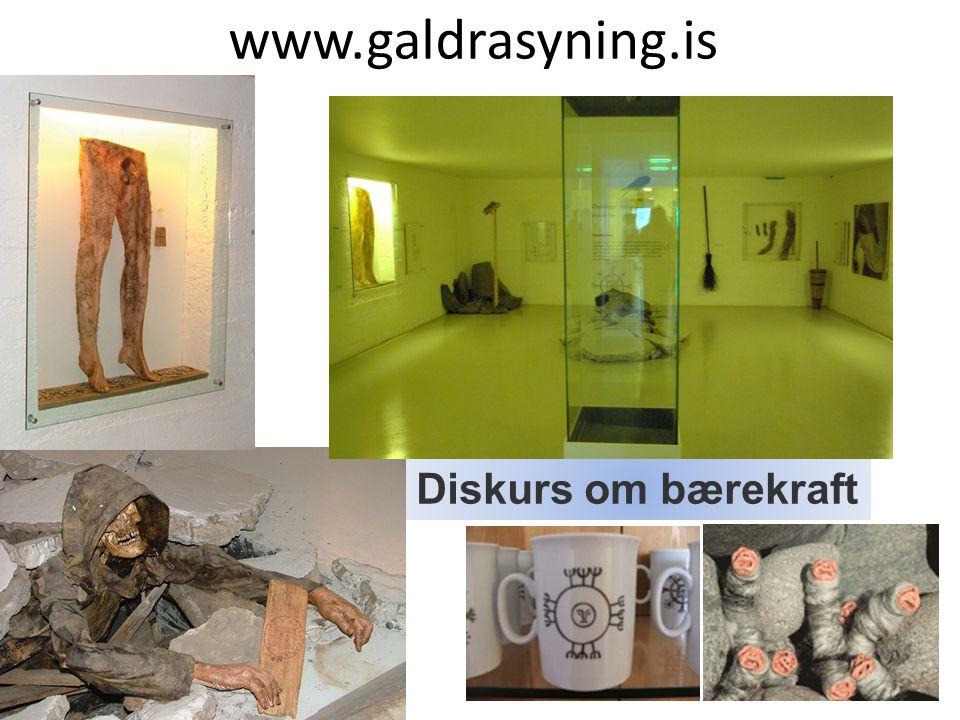 www.galdrasyning.is Diskurs om bærekraft