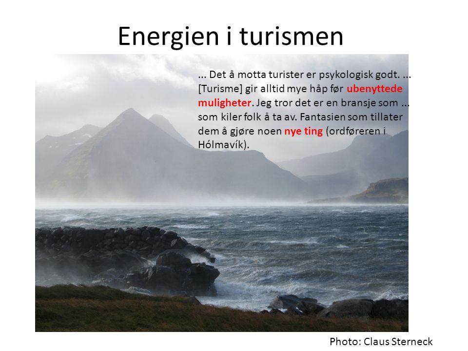 Energien i turismen