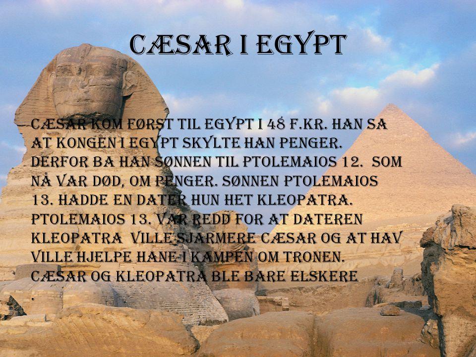 Cæsar i Egypt