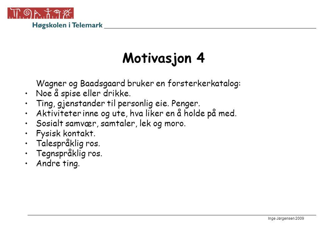 Motivasjon 4 Wagner og Baadsgaard bruker en forsterkerkatalog: