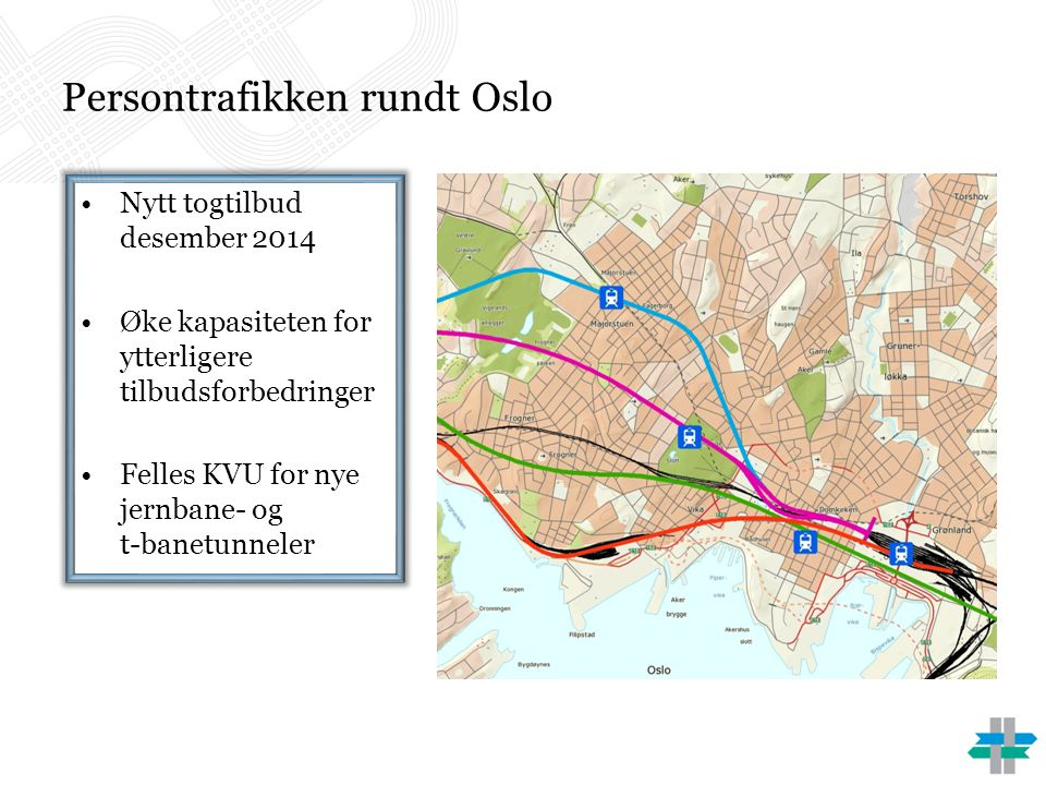Persontrafikken rundt Oslo