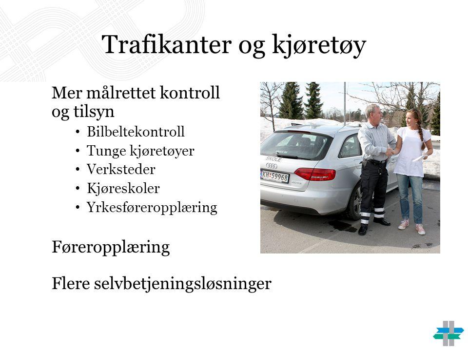 Trafikanter og kjøretøy