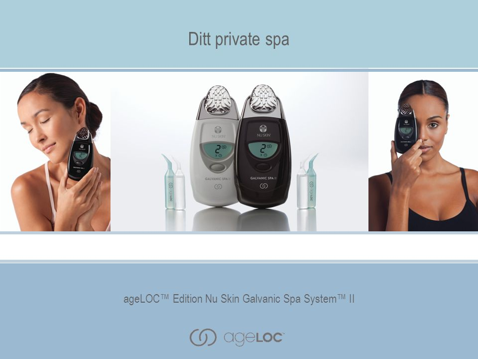 ageLOC™ Edition Nu Skin Galvanic Spa System™ II