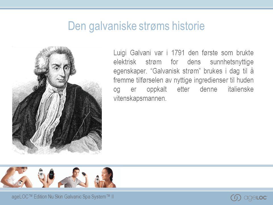 Den galvaniske strøms historie